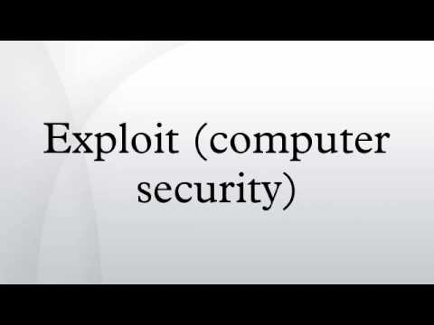 Exploit (computer security)
