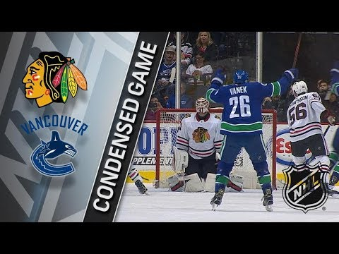 Chicago Blackhawks vs Vancouver Canucks – Feb. 01, 2018 | Game Highlights | NHL 2017/18. Обзор матча