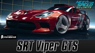 Need For Speed No Limits: SRT Viper GTS (MAXXED OUT + Tuning [All Black Edition Parts])