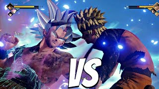 JUMP FORCE - Goku Ultra Instinct vs Naruto 1vs1 Gameplay
