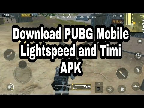 Download Pubg Mobile Lightspeed and Timi for Android   Download Pubg  Chinese Apk