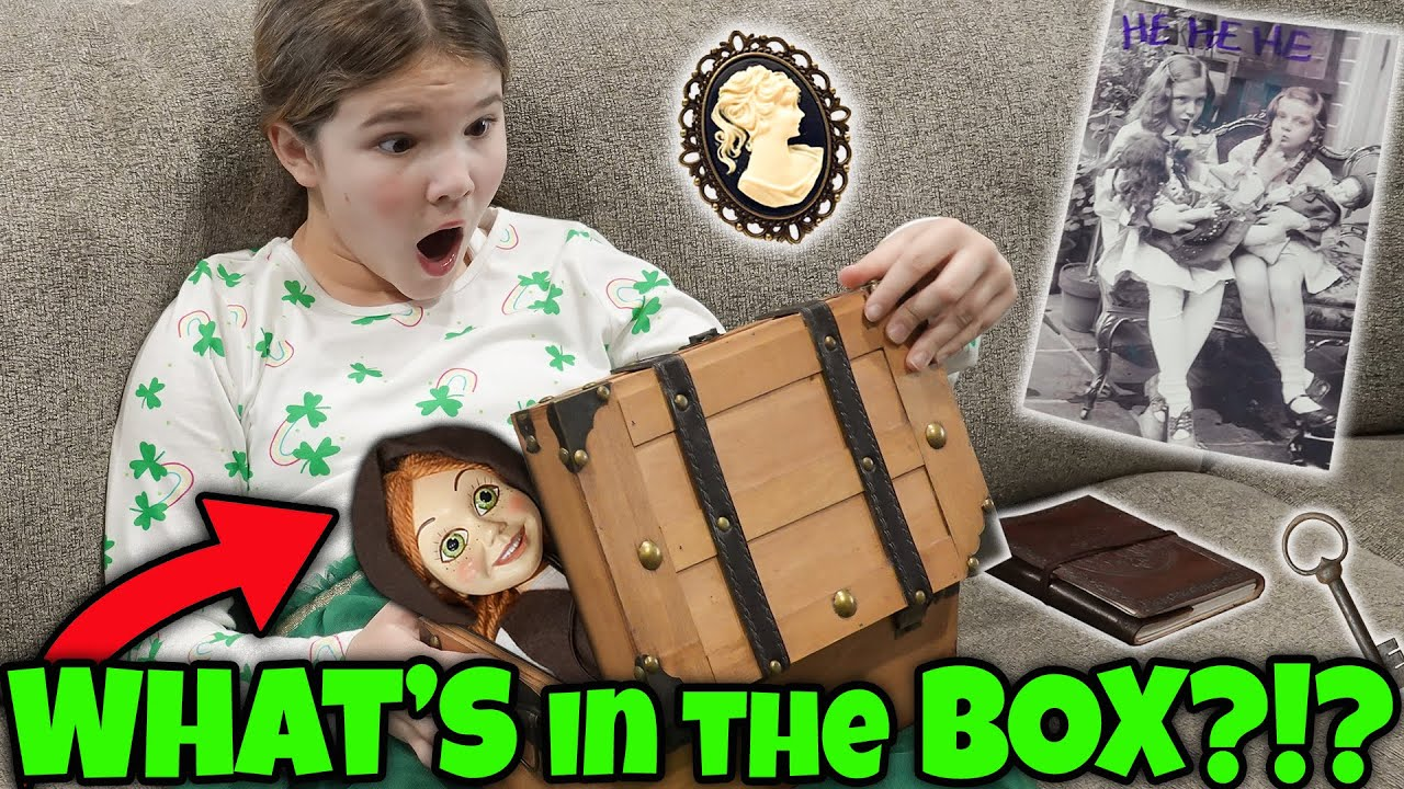 What's Inside The Mystery Box? Graveyard In The Woods Part 2! Puppet Maker Returns