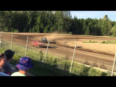 6/13/1015, Ministock Feature, Capitol Speedway, Willow, Alaska