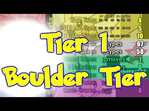 Top 720 Pokemon by Algorithm Part 1 / 12 (Boulder Tier)