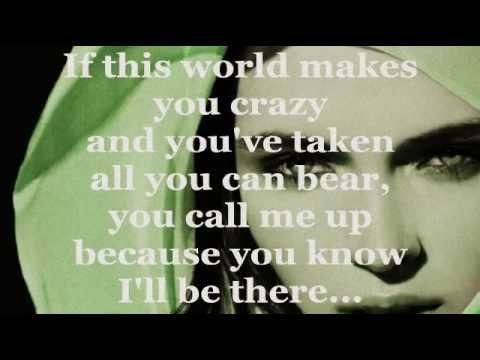 TRUE COLORS (Lyrics) - CYNDI LAUPER