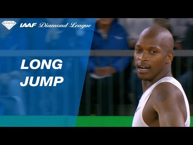 Luvo Manyonga's Clutch Final Attempt Wins the Diamond League Trophy