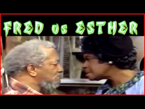 Sanford and Son - Fred vs Aunt Esther