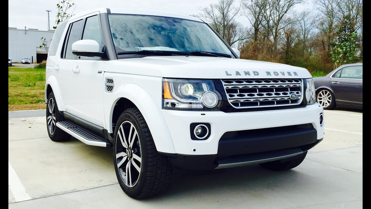 2015 Land Rover LR4 HSE Luxury Full Review Start Up Exhaust