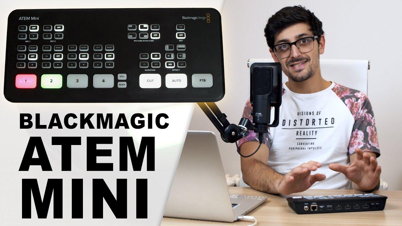 Blackmagic Atem Mini How To Setup And Live Stream In Hd Youtube