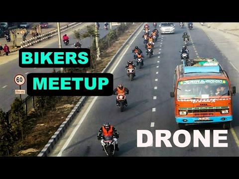 Namo Buddha Kavre |DRONE SHOTS| Bikers Meetup ft KTM Riders & Nik Tv