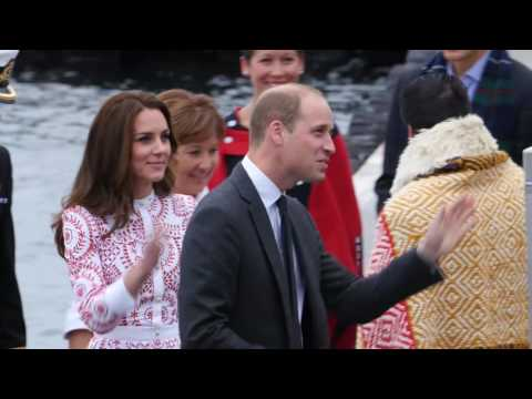 TRH The Duke and Duchess of Cambridge Arrive in Vancouver Aboard Harbour Air