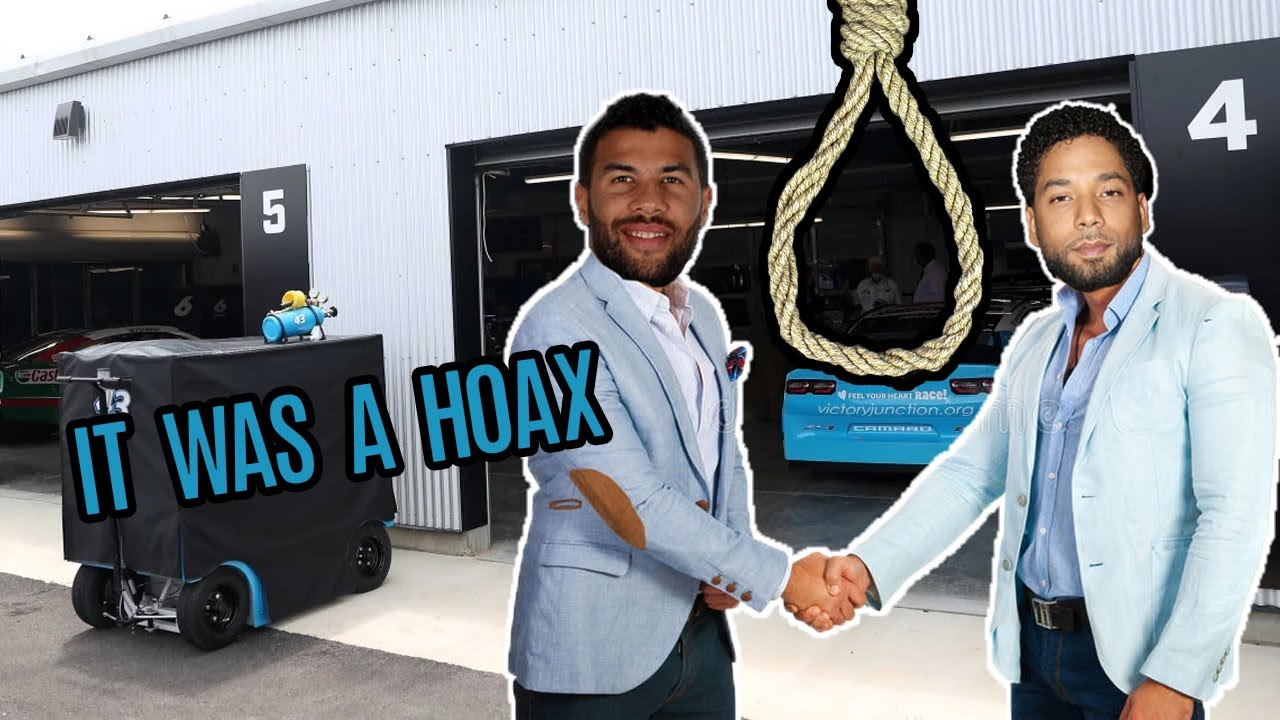 The Bubba Wallace Noose Saga (It Was A HOAX)!!!