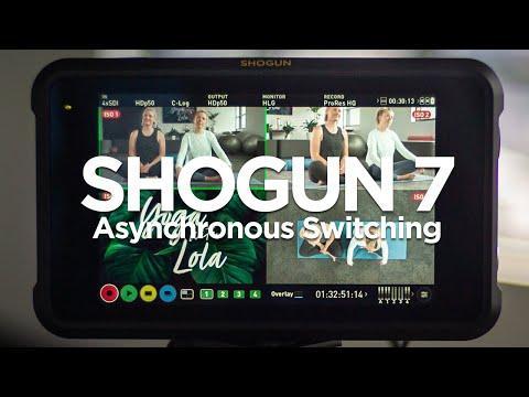 Shogun 7 Asynchronous Switching feature run-through
