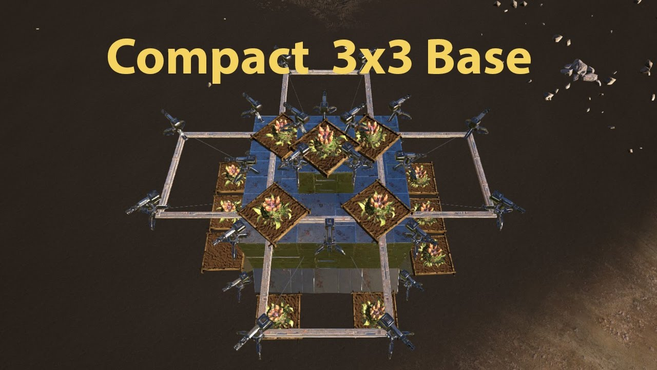 Ark Builds - Mid Game Compact Base Design