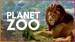 🦁 PLANET ZOO! | New Zoo Tycoon Game!