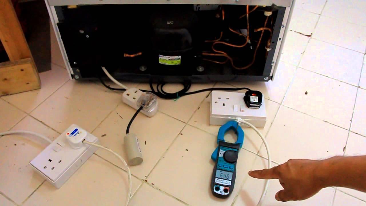 Power of the refrigerator