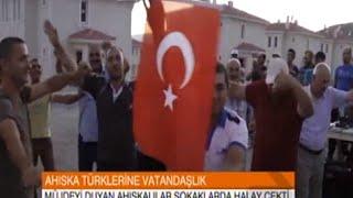Ahıska Türkleri 39 ne Türk Vatandaşlığı Müjdesi Verilince TRT Avaz