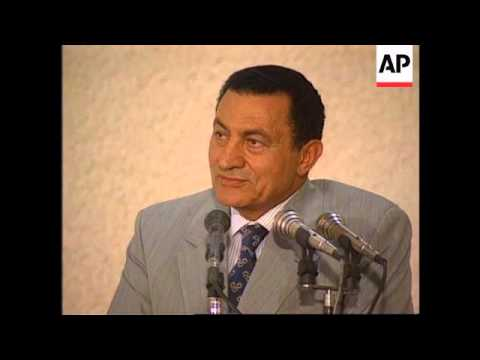 Egypt - Rabin & Mubarak Meet In Taba for Talks
