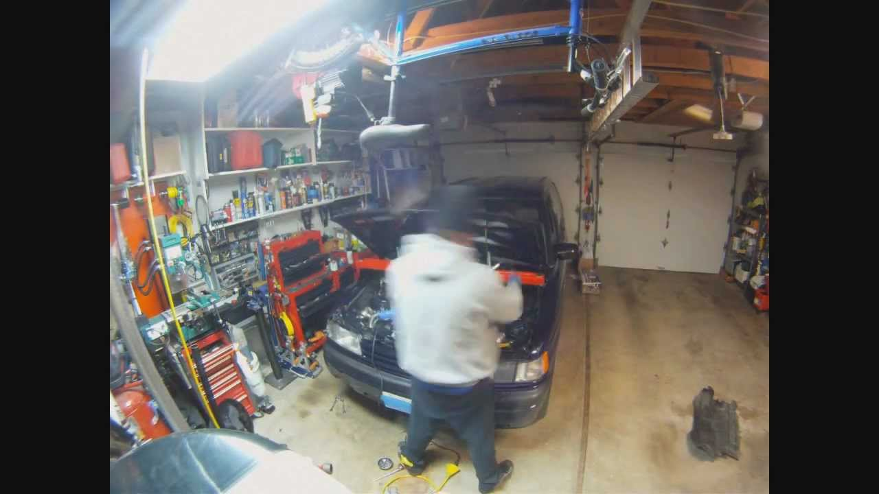 Too Much Oil In Car >> Dropping the Subframe - YouTube