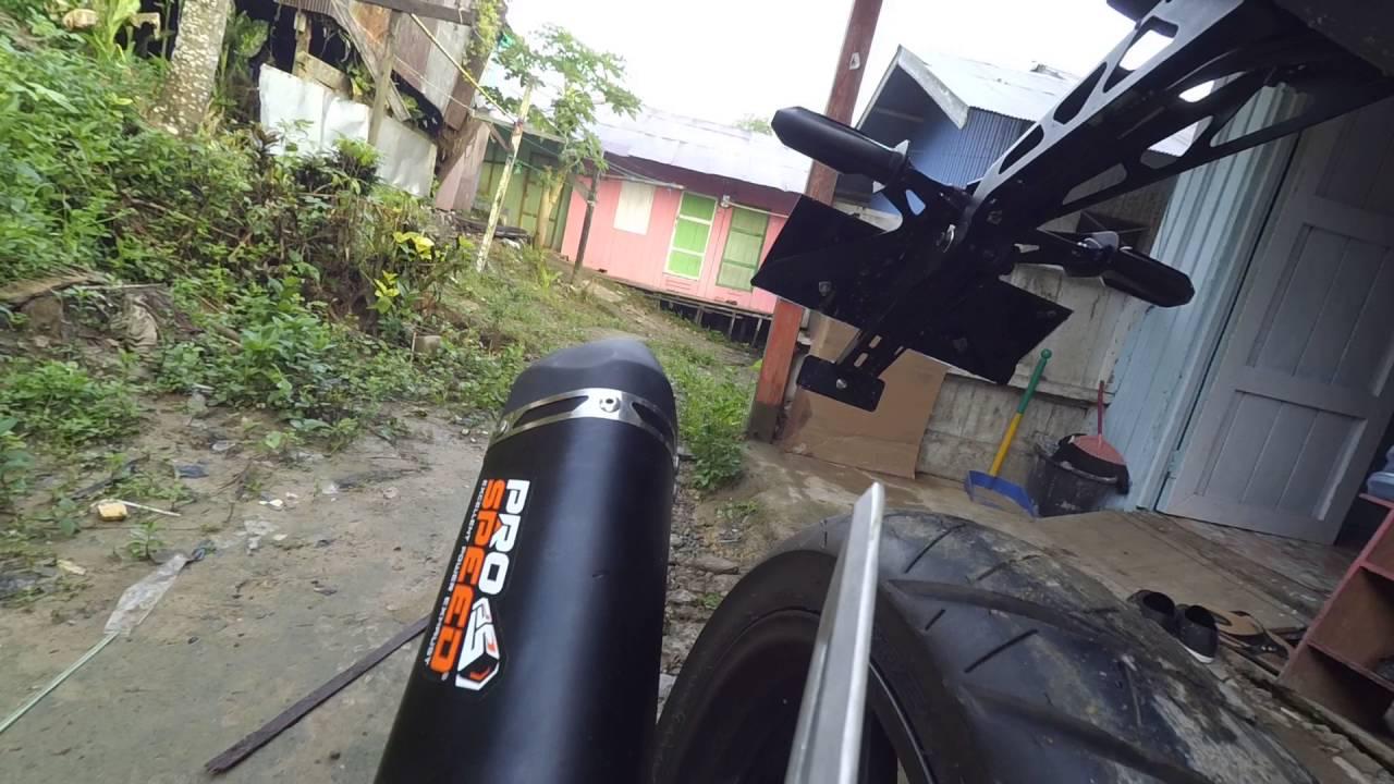 Prospeed Black Series With Db Killer On Cbr150r Facelift By Rahmat Mf Yamaha New Vixion150 Full