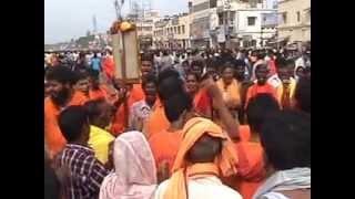 Sri Sri Abhiram Sankirtana Sovayatra during Ratha Yatra at Puri