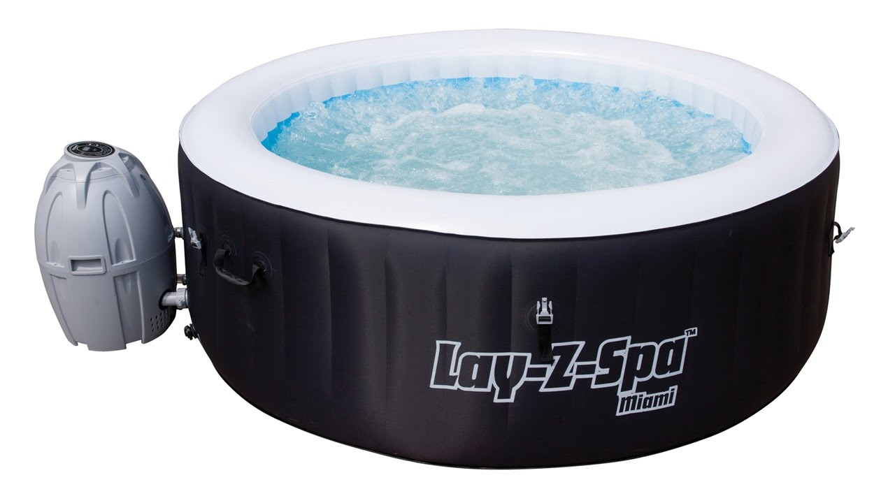 Bestway Lay Z Spa Miami Airjet Spa Setup Video Youtube