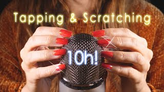 Обложка 10 HOURS ASMR Nails TAPPING And SCRATCHING 4k No Talking