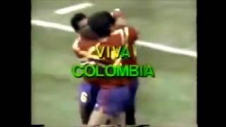 Colombia 1 - 1 Alemania (Narracion Edgar Perea) Copa del Mundo 1990