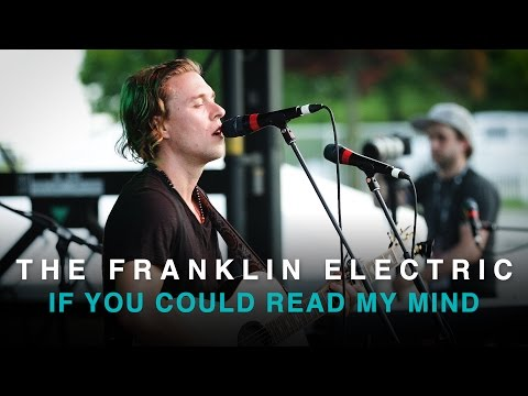 Gordon Lightfoot - If You Could Read My Mind (Franklin Electric cover)