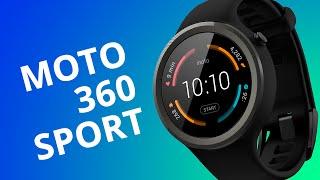 Moto 360 Sport - segunda geração (2015) [Análise](O Moto 360 foi um dos primeiros relógios inteligentes que de fato tinham o formato circular. Agora, o Moto 360 chegou repaginado e em versão