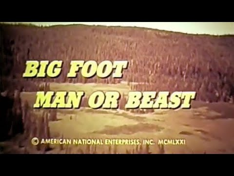Download Bigfoot Man Or Beast? (1972) Full Movie   Includes Famous Patterson-Gimlin 16Mm Footage   Great 70s!