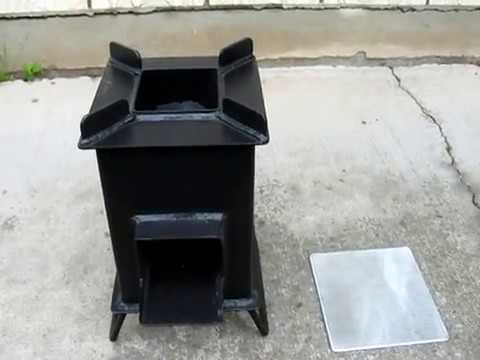 Grover briquette accessory for the heavy duty grover for Heavy duty rocket stove