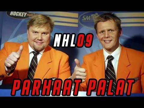 NHL 09 Jutilan ja Saukkosen parhaat OSA 1 (1/3)
