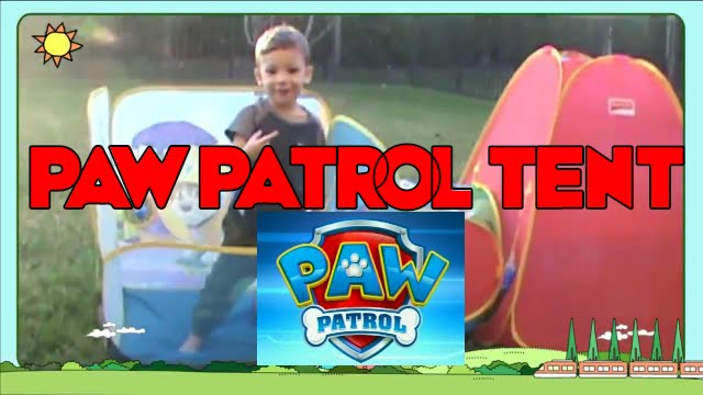 Hypermoderne Nickelodeon Paw Patrol Fun Tent for Kids - YouTube LB-85
