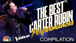 The Best of Voice Champion Carter Rubin's Performances - The Voice 2020