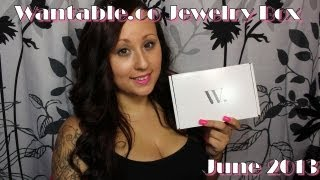 Wantable Jewelry Box June 2013