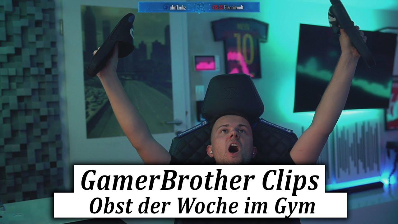 Obst der Woche im Fitnessstudio...  😂🤣   GamerBrother Clips