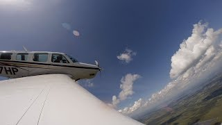 Autopilot Failure with a kid who soloed around the World - Bonanza A36 - Flight VLOG
