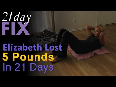 21 Day Fix Review - Elizabeth Lost 5 Lbs In 21 Days