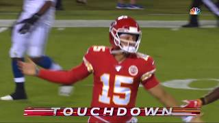 Patrick Mahomes Unbelieveable Touchdown Pass | Colts vs. Chiefs | NFL