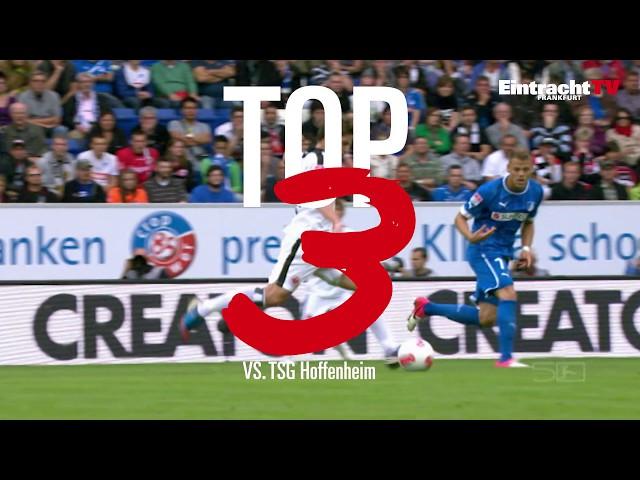 Die Top 3 Tore gegen Hoffenheim I Eintracht Frankfurt
