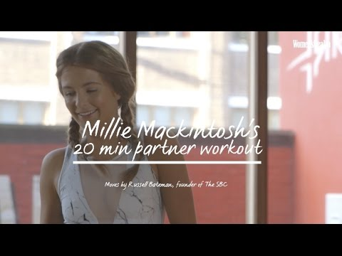 Millie Mackintosh SBC Workout To Get You Strong + Lean