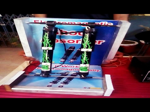 Electro Magnetic Shock Absorber Auto & Diesel Engineering project 2017