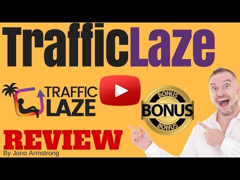 Traffic Laze Review ⚠️WARNING⚠️ DON'T BUY TRAFFIC LAZE WITHOUT MY 👷CUSTOM👷 BONUSES!!