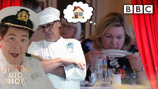 PRANKED! Served her own food by top chef  - BBC
