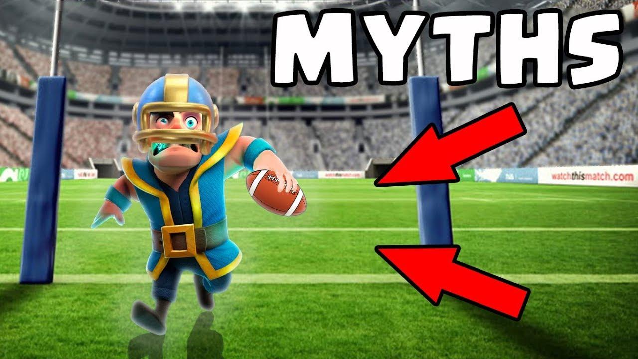 Top 10 des mythes à Clash Royale | Mythes # 6 + vidéo