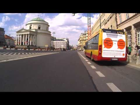 Part One - July 31, 2016, my Warsaw seen by bicycle camcorder