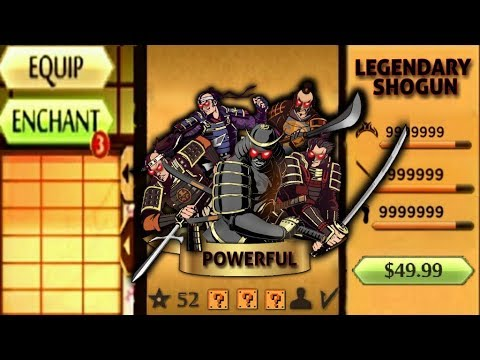 Shadow Fight 2 The Most Powerful Shogun
