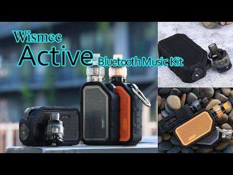 Wismec Active Bluetooth Music Kit ! Vaping&Listening    2100mAh   80W