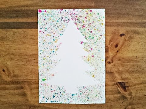 Special T Si >> Bricolage Noël. Fabriquer une carte de Noël - YouTube